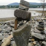 Stone Balancing made by the Tourists