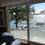 View from the Crow's Nest Room overlooking Hubbard Lake