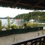 View from the Badladz restaurant