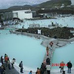 The Blue Lagune, hot natural water, be sure to have at least 1-2 hours if you want to swim here.