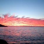 Sunset over Strand