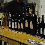 Sélection des vins