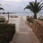 walk to the Asteria Beach
