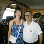 с хозяином ресторана Маноло