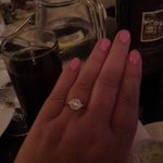 Engaged at Toscanas