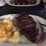 La carne.. que rica
