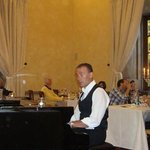 Marco, our waiter-pianist-singer