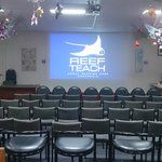 Reef Teach class room, full of laughter and Great information