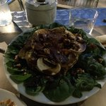 The legendary spinach salad!