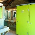 Les sanitaires - entièrement rénovés en 2014