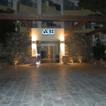 Entrance to Aphrodite hotel