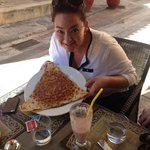 Beware of the size of the crepes