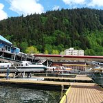 Seaplane park at Juneau and JUneau's great too!