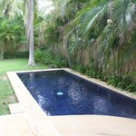 A private small pool