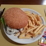 maxi hamburger chianina