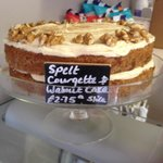 Courgette & walnut cake