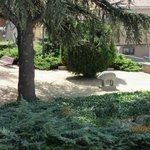 Jardín, Verraco
