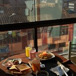 Breakfast & View from room