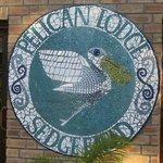 "mozaïek ""Pelican Lodge"""