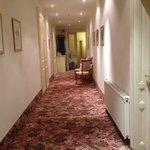 3階の廊下。