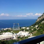 View from Capri restaurant
