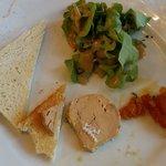 médaillon de foie gras et son chetney aux abricots