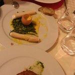 antipasto cannoli croccanti con parmigiano e zabaione