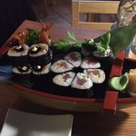September 2014 - Spicy tuna & Fried shrimp sushis