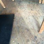Breakfast area floor