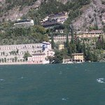 View from ferry to Limone side of Lake