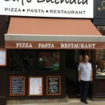 Cafe Buendia.pizza pasta restaurant open from.7.30 to 10 pm 7 days a week.