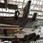 A few of the Smithsonian's aeroplanes!