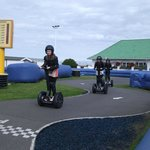 Segway (costs £5 for 10 laps)
