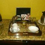 Coffee/tea making facilities
