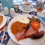 Breakfast and Tea, very nice.