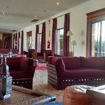 Reception area of Hotel