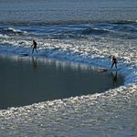 Bore Tide Surfers