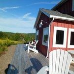 Coach house porch