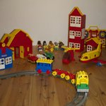 Loft with Lego for the Kids