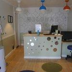 Lobby and Desk