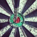 bullseye on the dart board