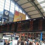 Annonce des trains