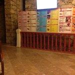 the reception area!