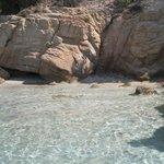 particolare della zona rocciosa