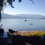 Lakeside site, was very nice
