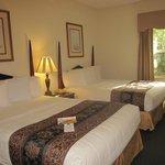 Sleeping area - room 338