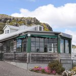 OUr cafe has bay views and is nestled below the famous 'Nut' - we also have al fresco dining