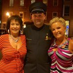 Barry the Doorman with our ladies
