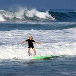 First weekend ever surfing