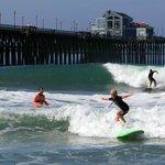 Oceanside pier NS W/ his Surfin Fire Coach